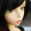 just_lori: Cute girl doll, 3/4's view of her face (Guenn)