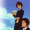 tabi: (Haruhi Suzumiya   Koizumi and Kyon)