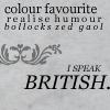 liseuse: (british)