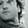 petra: Don McKellar with a scarf, looking superior in black and white. (Darren - Dubious look)