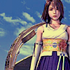 yati: Yuna standing in front of the Luca stadium. (realities beyond reach)