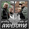 cesy: SG-1 - pretty much made of awesome (with a picture of them) (Stargate)