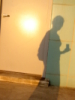 polerin: My shadow on a wall (Shadow portrait)