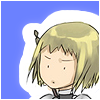 inkstone: Claymore's Clare looking confused (eh?)