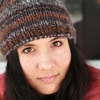 mstori: My first winter in MN, wearing a hat made by Rainy in CA. (Default)
