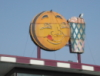 wonderlandchick: Burger stand sign (Smiley's)