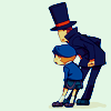 teii: Professor Layton and Apprentice Luke (A sight to behold)