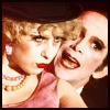 purple_smurf: The Emcee and a chorus girl from 'Wilkommen' in the film version of Cabaret (cabaret)