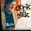 joan_psmith: a picture of Mr Fry in front of a laptop, caption: Dork Talk (dork talk (Mr Fry))