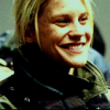 joan_psmith: picture of a happily grinning Kara Starbuck Thrace (*squee* (Starbuck))
