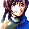 materiahunter: Yuffie with a rather large grin (did somebody say materia?)