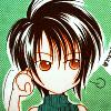 materiahunter: fanart of Yuffie looking annoyed (fffff)