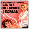 dreiser: (Pulp Novel: Full Grown Lesbian)