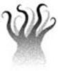 izmeina: spooky shadowy squid (scary squid, shadow, cthulhu)