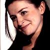 bookblather: Caterina Scorsone smiling at camera right. (in the heart: christine: caterina scorso)