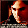 "liz_marcs: Xander icon with legend, ""I've known sorry and have learned to comfort the wretched."" (Xander_Known_Sorrow)"