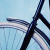 bicyclette: (blue)