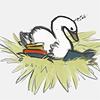 avia: (nest of books)