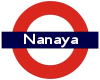 nanaya: My username on the London Underground symbol (geekery, me, tube, travel)