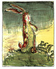 "kshandra: William Nicholson's illustration ""Spring Time"" from the original publication of the classic children's story (Velveteen Rabbit)"