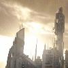 slybrarian: The sun rising over the towers of Atlantis (Atlantis Tower Sun)