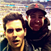 girlmarauders: Pete Wentz and Gabe Saporta being bros (pete&gabe)