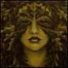 strive4balance: Green Female Dryad (female feminine genderbender greenwoman)
