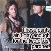 gwyn: (gay pants)