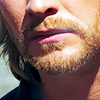 mjolnir_retriever: The lower half of Thor's face, looking sad and weary. (drawn lines)