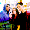 lovepeaceohana: Troy, Abed, and Annie from Community, my new OT3. (troy+annie+abed)