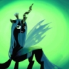 flynn_the_cat: Painting of Queen Chrysalis from My Little Pony, Friendship is Magic (Queen Chrysalis)