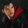 shoveltoface: (short - red hoodie)