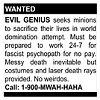 shadowchaser: (Recruiting Minions)