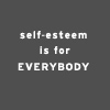 elz: (self-esteem)