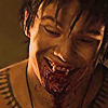 alchemise: True Blood: Godric smiling with bloody mouth (TB: :D)