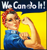 "kareila: Rosie the Riveter ""We Can Do It!"" with a DW swirl (dw)"