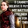 lawofar18: (Battle eyeliner)