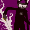 januar: from Homestuck: Eridan and his 'magic' wand ([homestuck] eridan)