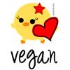 geovegan: vegan chick (vegan)