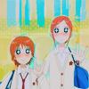 izilen: Otani and Risa starryeyed (*_____*)