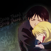izilen: Roy and Riza hug (Thank you, Roy and Riza)