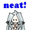"megpie71: Simplified Bishie Sephiroth says ""Neat!"" (Enthuse)"