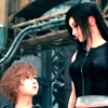 "megpie71: Denzel looking at Tifa with a sort of ""Huh?"" expression (Are you going to tell him?)"