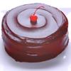 lavendertook: (chocolate cake with cherry)
