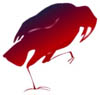 crows: (red)
