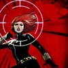 lilacsigil: Black Widow with sights on her (black widow)