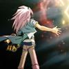 ein_papier: Yami Bakura taking Slifer's attack (Yami no Bakura)