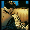 icarus_chained: bruce with injured alfred (alfred)