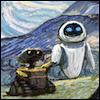 kareila: Wall-E & Eve return to Earth (wall-e)