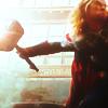 ancarett: Thor wielding his hammer (The Avengers Thor)